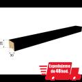 Stěnová lamela STELLA MILANA - Černá 2700x20x30mm